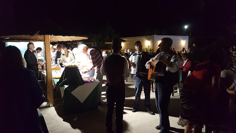 Serata Siciliana cucina tipica musica e canti tradizionali