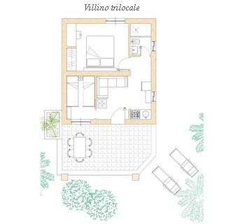 Villino trilo 4/5 pax