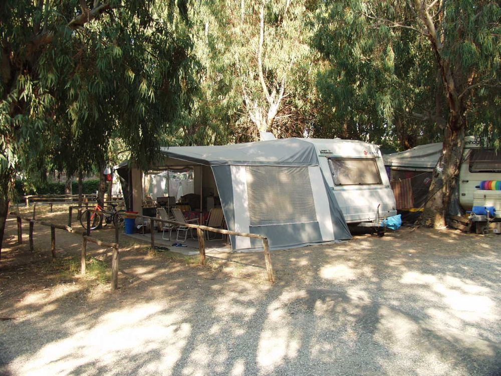 Camping Cicero piazzola roulotte