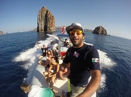 Escursioni alle Isole Eolie in barca con il Team del nostro Diving-Center